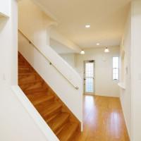リビングから階段